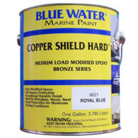 Blue Water Copper Shield 35 Hard Epoxy, Gallon