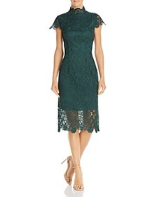 Laundry by Shelli Segal - Embroidered Lace Illusio