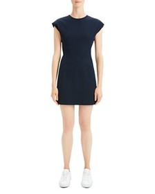 Theory - Structured Cap-Sleeve Dress