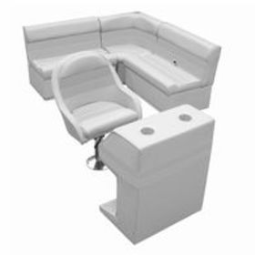 Deluxe Pontoon Furniture with Toe Kick Base - Grou