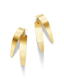 Moon & Meadow - 14K Yellow Gold Concave Spark Ear