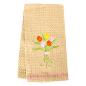 Tulip Bouquet Kitchen Towel