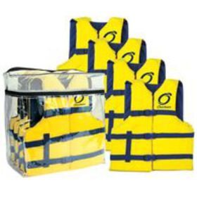 Overton's Universal Adult Life Jackets, 4-pack