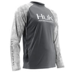 Huk Men's Performance Kryptek Raglan Vented Long-S