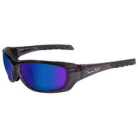 Wiley X WX Gravity Sunglasses, Black Crystal Frame