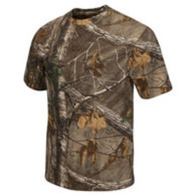 Realtree Men's Dual-Blend Short-Sleeve Tee