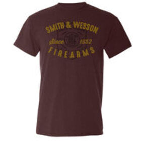 Smith & Wesson Men's Vintage Shield Short-Sleeve T