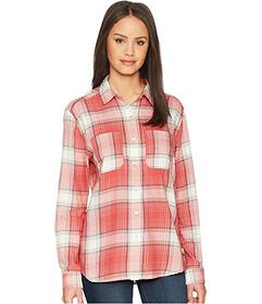 The North Face Sunbaked Red Trailhead Plaid