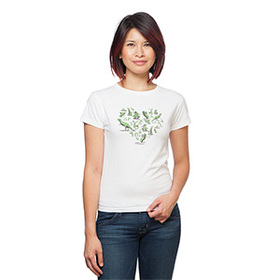 Edward Scissorhands Topiary Ladies' T-Shirt