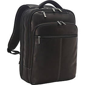 Back-Stage Access Colombian Leather Laptop Backpac