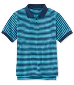 Pima Cotton Polo Shirt, Traditional Fit Banded Sho