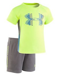 Under Armour Baby Boy's Sporster Tee and Shorts Se