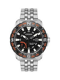 Citizen PRT Eco-Drive Stainless Steel Watch SILVER