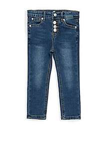 7 For All Mankind Little Girl's Ankle Skinny Jeans