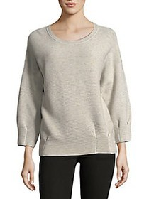 French Connection Speckled Long-Sleeve Sweater LIG