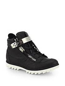 Giuseppe Zanotti Spiked Sole High-Top Sneakers NER