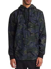 G-Star RAW Camouflage Hoodie RAW DENIM