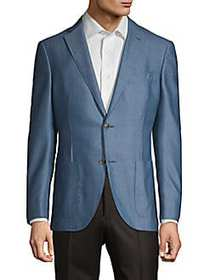Luciano Barbera Classic-Fit Cashmere Sportcoat LIG