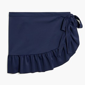 J. Crew Factory factory womens Cover-up wrap skirt