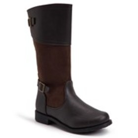 Girls Riding Boot with Lace-up Back