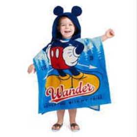 Mickey Mouse Hooded Towel for Kids