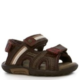 Toddler Boy Wide Width Leather River Sandals