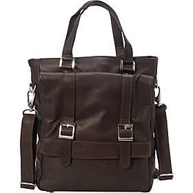 Buckle Flap-Over Tote
