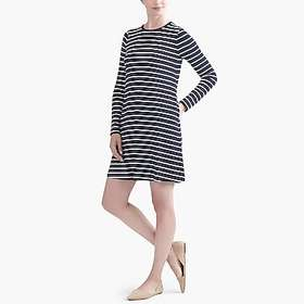factory womens Striped long-sleeve dress
