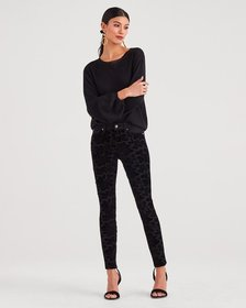 b(air) Denim Ankle Skinny with Full Lace Front Pan