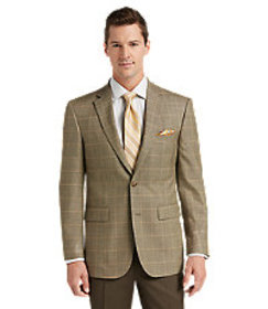 Traveler Collection Tailored Fit Windowpane Sportc