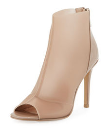 Charles by Charles David Reece Open-Toe Latex Boot