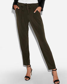 mid rise ankle jogger pant