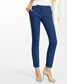 petite mid-rise new waistband columnist ankle pant