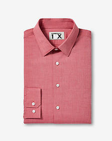 slim easy care textured 1mx shirt