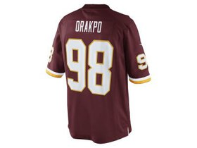 Washington Redskins Brian Orakpo Nike NFL Youth Li
