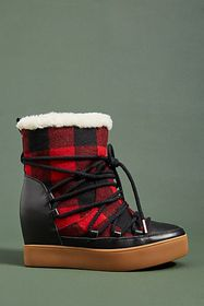 Shoe The Bear Trish Wedge Booties