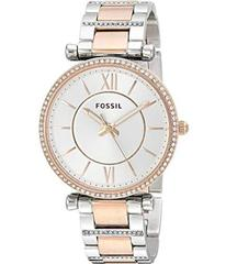 Fossil Silver/Rose Gold
