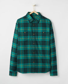 Adult Festive Flannel Buttonfront
