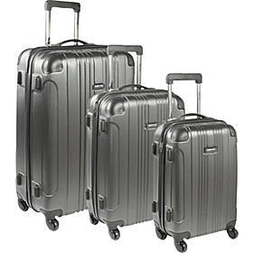 Out of Bounds 3 Piece Hardside Spinner Luggage Set