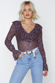 Come and Lace Me Bodysuit