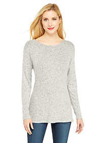 Petite Cozy Cross Back Pullover
