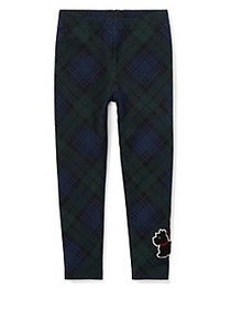 Ralph Lauren Childrenswear Little Girl's Tartan Le