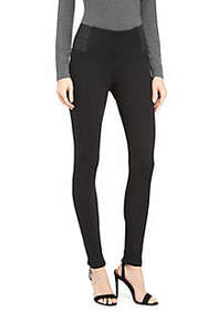 Petite Signature Pull On Leggings in Compact Ponte