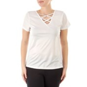 BALLY Strapped Neck Active T-Shirt
