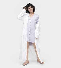 Vivian Stripe Knit Sleepshirt