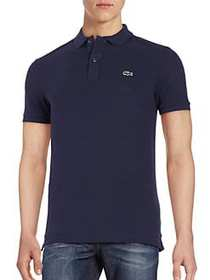 Lacoste Slim Fit Short-Sleeve Cotton Polo NAVY