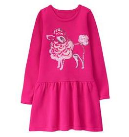 Poodle Sweater Dress