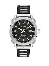 Bulova Precisionist Stainless Steel Strap Watch TW