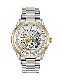 Bulova Sutton Automatic Watch TWO TONE