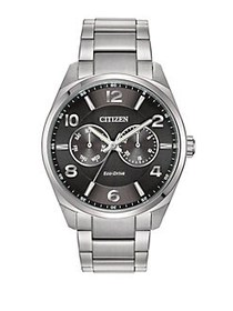 Citizen Eco-Drive Stainless Steel Watch SILVER